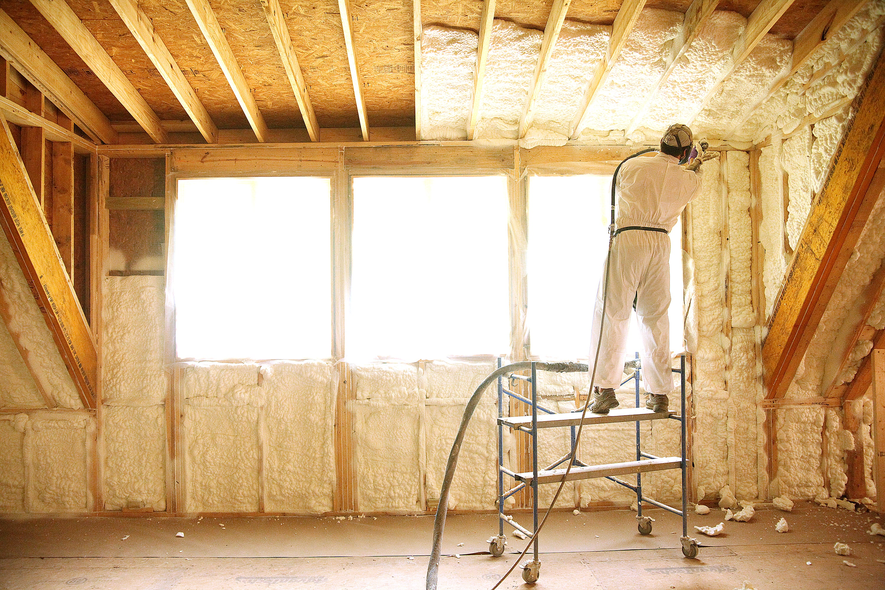 Styrofoam Insulation Denim Insulation Logan Insulating And Foam Services Spray Foam On