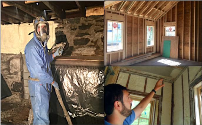 Spray foam, advanced framing, and pre-drywall inspection